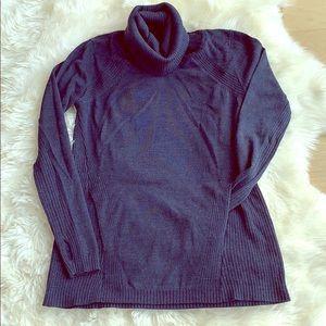 Lululemon cowl neck merino wool sweater